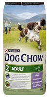 Dog Chow Adult Lamb для взрослых собак с ягненком - 14 кг