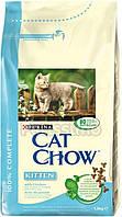 Cat Chow Kitten с курицей - 15 кг
