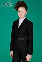Шкільний піджак для дівчинки Zironka 9510-1 чорний 122