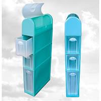 Комод пластиковый для ванной комнаты 450Х156Х1005 мм Консенсус KN-017