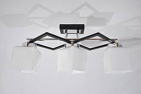 Люстра потолочная на 3 лампочки  P3- 37323/3, фото 2