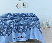 Плед-покрывало Marie Claire BOW голубое 150*200