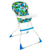 Детский стульчик для кормления Цветная абстракция