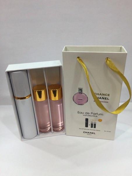 Подарочный набор парфюмерии Chanel Chance Eau Tendre с феромонами - МАРГАРИТА в Черновицкой области