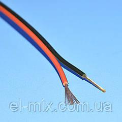Кабель акуст. медный черно-красный 2х0,50мм кв. Cabletech  KAB0382