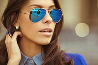 Зеркальные очки Авиатор Aviator Тренд 2016! РОСПРОДАЖА!!!