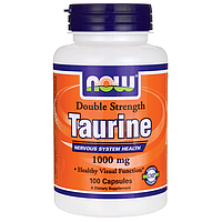 Таурин (Taurine), 1000 мг 100 капсул