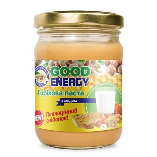 Ореховая паста с медом, 250 г.
