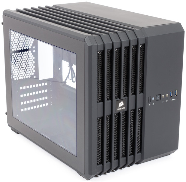 Корпус Corsair Carbide Air 240 Black (CC-9011070-WW)