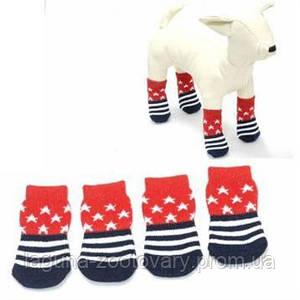 Носки для очень маленьких собак S, в ассортименте