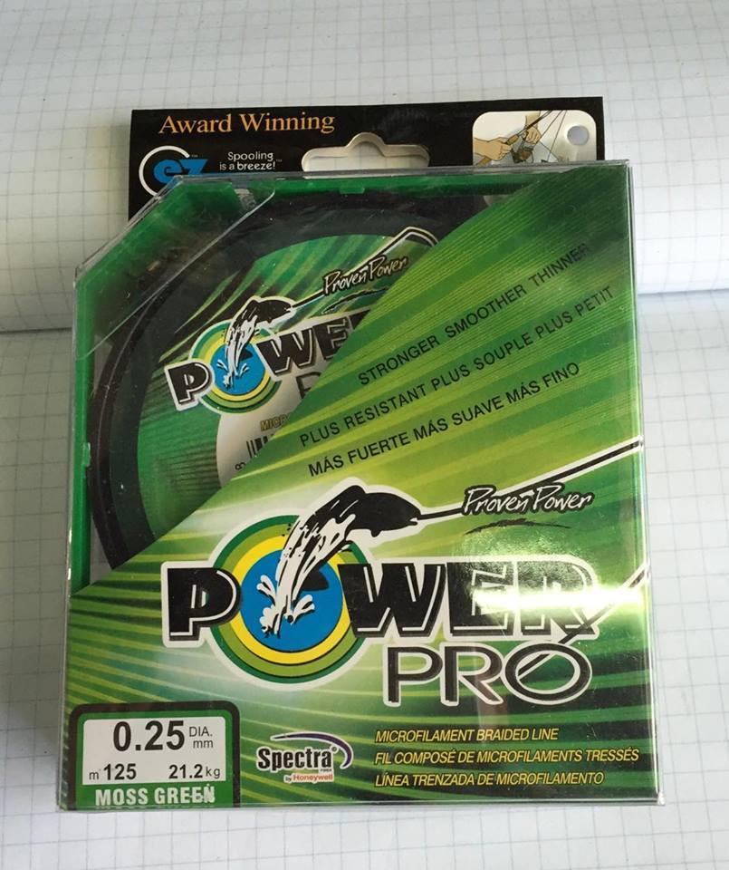 Нитка плетінка Power Pro 0.25