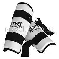 Защита голени REYVEL винил Искусственная кожа, Reyvel, L, Защита голени, Белый