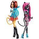 Куклы Монстер Хай оригинальная Кэтти Нуар и Торалей из серии Пугающие рокеры, фото 2