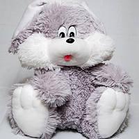 Мягкая игрушка заяц большой 110 см