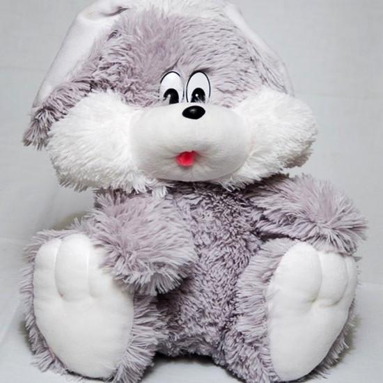 Игрушка зайчик с ушами 35 см, фото 1