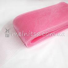 Регилин (кринолин) шляпный широкий, 10 см, розовый