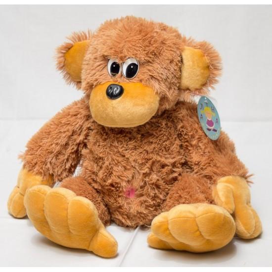 Большая мягкая игрушка обезьяна 75 см, фото 1