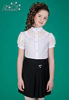 Шкільна спідниця для дівчинки Zironka 7501-1 чорний 140