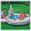 Детский бассейн надувной Акула