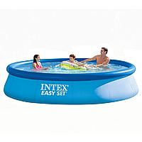 Бассейн надувной Intex Easy Set (396*84см) семейный круглый без насоса