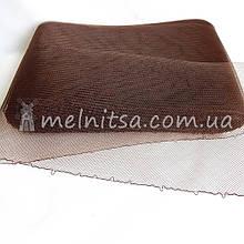 Регилин шляпный широкий, 16 см, коричневый
