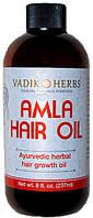 Амла Масло 237мл Amla Hair Oil Vadik Herbs. Для укрепления и роста волос.