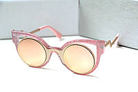 Очки женские от солнца Fendi Paradeyes розовые, магазин очков