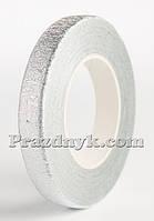 Тейп-лента серебро