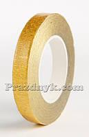 Тейп-лента золото