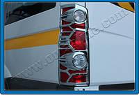 "Накладки на стопи Volkswagen crafter (фольксваген крафтер"":), ABS пластик"
