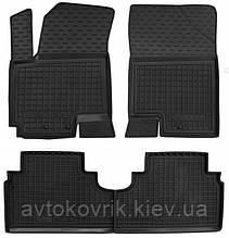 Полиуретановые коврики в салон Kia Venga (YN) 2009- (AVTO-GUMM)