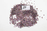 Бисер 100 грамм (МЕЛКИЙ) (№ 1 - 46) 29 (640)