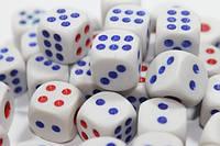Зарики (игральные кубики) 12х12мм