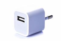 Блок питания (USB, разные цвета) Белый