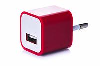 Блок питания (USB, разные цвета) Красный