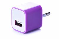 Блок питания (USB, разные цвета) Фиолетовый