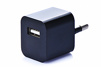 Блок питания (USB, разные цвета) Черный