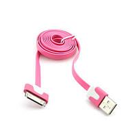 Кабель Apple USB (разные цвета, 1 м) Розовый
