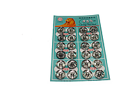 Кнопки пришивные № 3 (24шт.) Черные