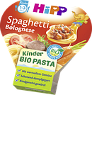 Hipp Kinder Bio Pasta Spaghetti Bolognese - Био-паста спагетти болоньезе с 1 года, 250 г