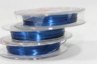 Проволока цветная (однотонная, 10м) Синий