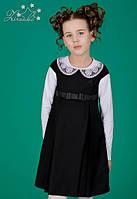 Шкільний сарафан для дівчинки: 6517-1