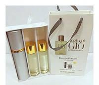 Подарочный набор парфюмерии Giorgio Armani Acqua Di Gio с феромонами