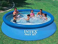 Бассейн надувной Intex Easy Set (366*76см) семейный круглый, фото 1