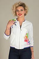 Стильная женская куртка-ветровка спортивная №111., фото 1