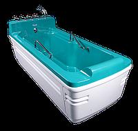 """Бальнеологическая ванна """"Вулкан""""ВБ-04 газ и гидромассаж(18 водных и 18 воздушных форсунок)"""