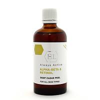 """HOLY LAND Alpha-Beta&Retinol Deep Clean Peel - Химический пилинг """"Глубокая чистка"""" 100 мл"""