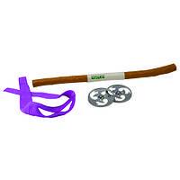 Набор игрушечного оружия Черепашки-Ниндзя боевое снаряжение Донателло (шест бо, 2 сюрикена) TMNT