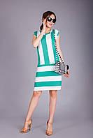 Летнее легкое платье из натуральной вискозы мята