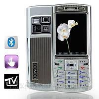 Donod D805 + TV (Duos, 2 sim,сим) донод сенсорный экран + чехол в подарок!